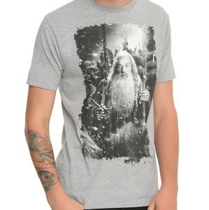 The Hobbit Gandalf Men's Graphic Shirt